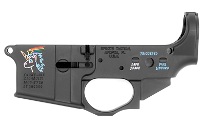 Spike's Tactical Snowflake Color Fill AR15 Stripped Lower Receiver