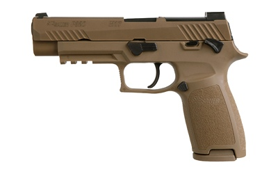 SIG Sauer P320 M17 9mm Manual Safety
