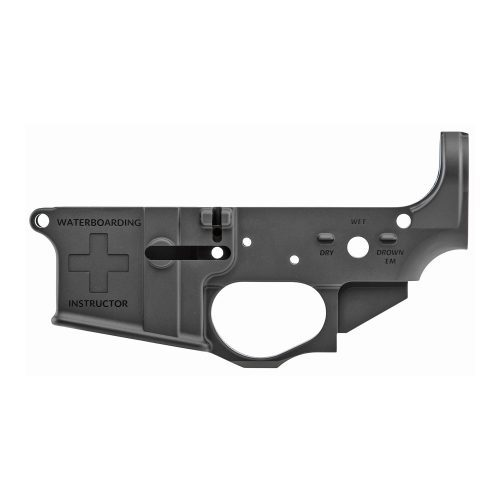 Spike's Tactical Waterboarding Instructor AR15 Stripped Lower Receiver 1