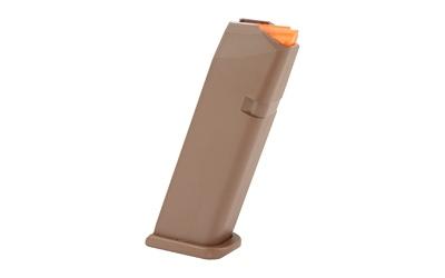 Glock 17 GEN 5 9mm 17 round magazine FDE