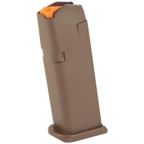 Glock 19 GEN 5 9mm 15 Round Magazine FDE