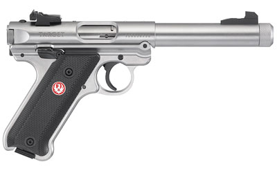 Ruger Mark IV Target Stainless Steel Threaded Barrel 22LR