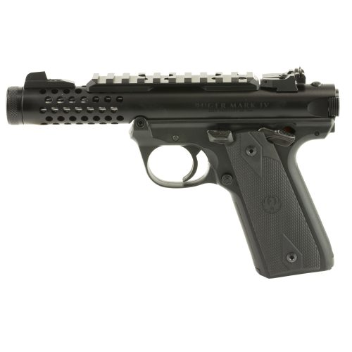 Ruger Mark IV 22/45 LITE Black Threaded Barrel 22LR 1