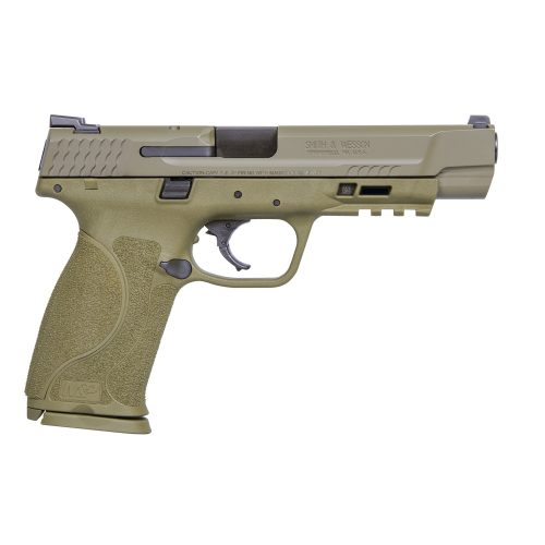 "S&W M&P M2.0 9MM 5"" FDE 2"