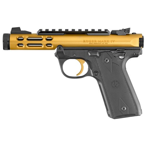 Ruger Mark IV 22/45 LITE Gold 1