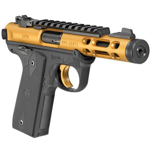 Ruger Mark IV 22/45 LITE Gold 3