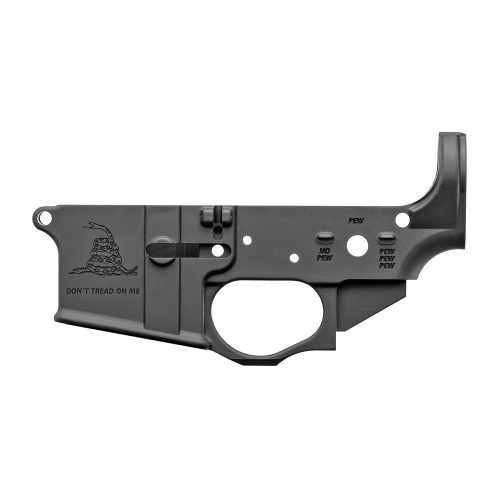 Spike's Tactical Gadsden Flag AR15 Stripped Lower Receiver 1