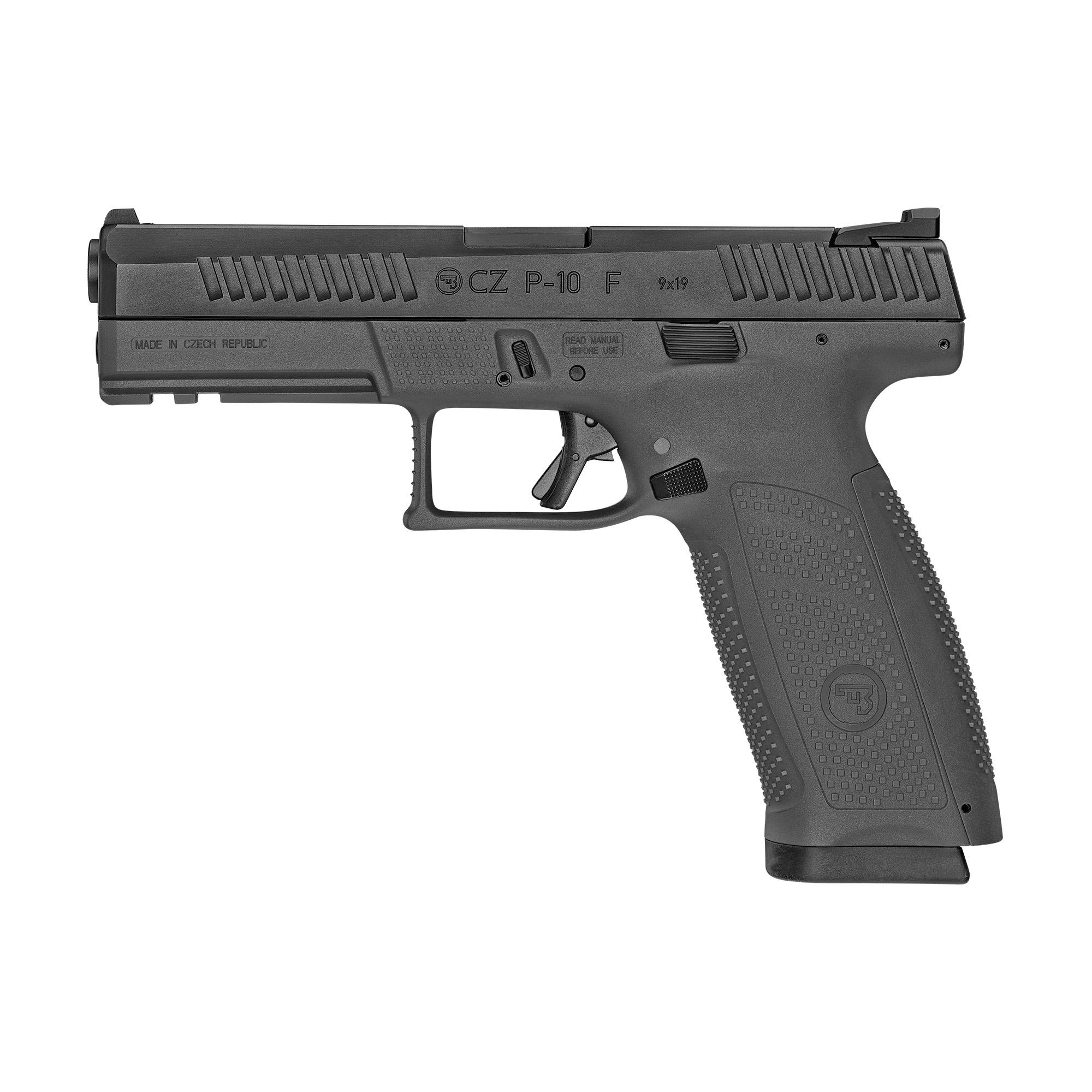 CZ P-10 F 9mm Black P10F · DK Firearms