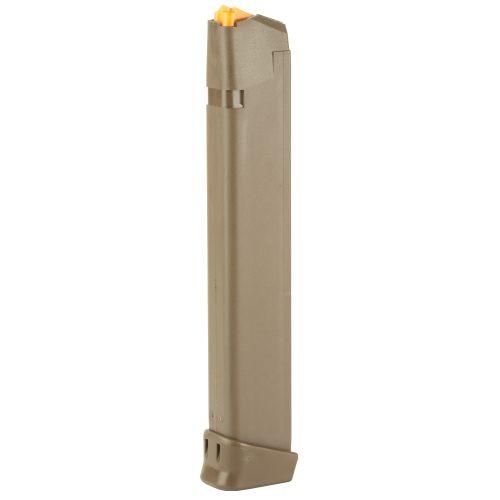 Glock 17 9mm 33 Round Magazine FDE 1