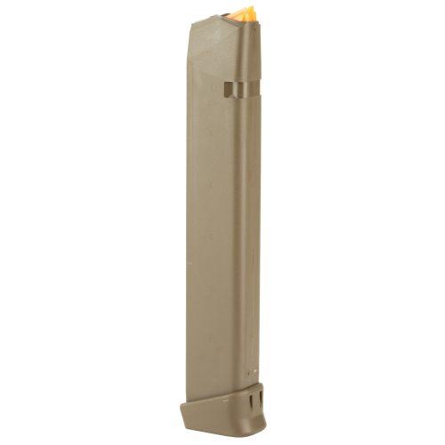 Glock 17 9mm 33 Round Magazine FDE 2