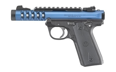 Ruger Mark IV 22/45 LITE Blue Threaded Barrel 22LR with two 10 round magazines