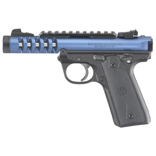 Ruger Mark IV 22/45 LITE Blue Threaded Barrel 22LR with two 10 round magazines 1