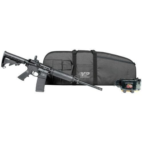 Smith & Wesson M&P 15 Sport 2 5.56mm Promo Kit, Come with M&P Duty Series Gun Case, and Caldwell TAC-30 AR-15 Mag Charger