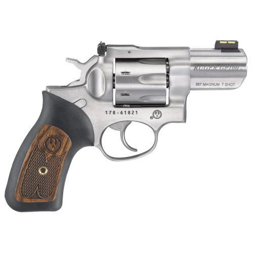 """Ruger GP100 357 Magnum 7 Shot 2.5"""" Barrel"""