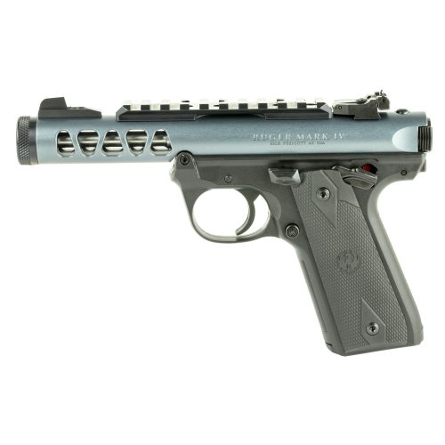 Ruger Mark IV 22/45 LITE Gray 22LR with two 10 round magazines