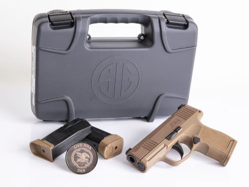 SIG Sauer P365 9mm Coyote NRA Edition