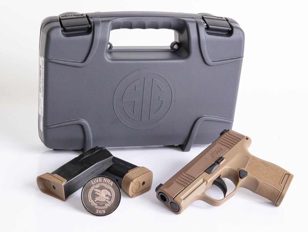 SIG Sauer P365 9mm Coyote NRA Edition · DK Firearms