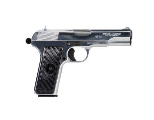 Zastava Arms M57A 7.62x25 Tokarev Chrome Finish