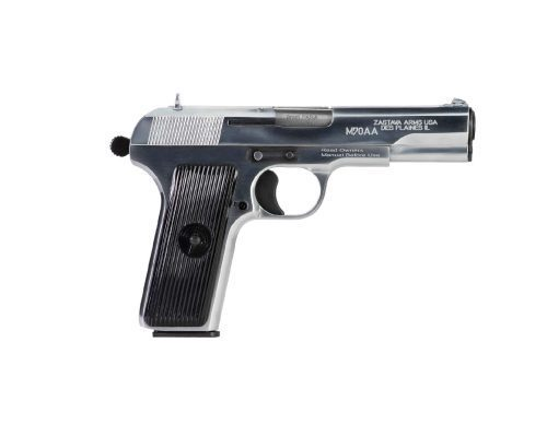 Zastava Arms M70AA 9mm Tokarev Chrome Finish
