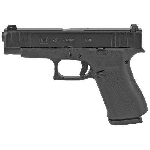 Glock 48 9mm Black Glock Night Sights