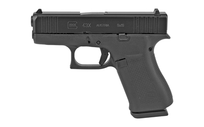 Glock 43X 9mm Black