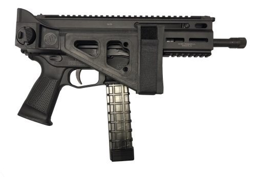 Grand Power Stribog 9mm with HBI SBT Folding Brace